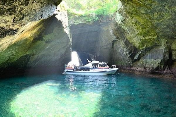 堂ヶ島洞窟巡り